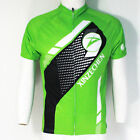 Men's Bicycle Jersey Racing Cycling Clothing Mountain Bike Shirt Jacket Green
