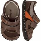 Pediped Originals Chocolate Brown Charleston Leather Soft Shoes 0-6 Month 101224