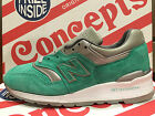 New Balance X Concepts 997 Rivalry Pack NYC New York Mint Made USA 7-13 998 1