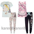 Ladies Disney Alice In Wonderland Pyjamas Primark Womens T Shirt Leggings