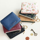 HIMORI ICONIC Pochette Coin Wallet - Cute Mini Sized Zipper Coin Purse+Key Ring