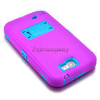 For Samsung Galaxy Note 2 Shockproof Rugged Hybrid Rubber Hard Phone Cover Case