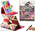 "PU Leather Smart Case Cover for Samsung Galaxy Tab S 10.5"" SM-T800 T805 DESIGNER"