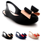 Womens Zaxy Gift Bow Slingback Rubber Summer Lightweight Shoes Sandals UK 3-8