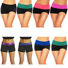 Sexy Women Yoga Athletic Exercise Gym Workout Sport Stretch Shorts Pants