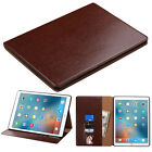 For Apple Ipad Pro 12.9‑inch PU Leather Fold stand Flip Wallet Pouch Case Cover