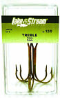 Eagle Claw Lake & Stream Bronze Treble Hooks! CHOOSE YOUR SIZE