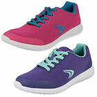 Girls Clarks Sprint Zone Jnr Lace Up Trainers F & G Fittings