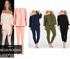 S183 NEW WOME'N MICHELLE BARDOT TWO PIECE TEXTURED KNITTED OFF SHOULDER DRESS