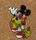 B5 PIN DISNEY MICKEY MOUSE GUITAR ROCK N ROLL 1.5""