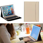 Aluminium Bluetooth Keyboard Stand leather Case Cover For iPad Pro 12.9 2015