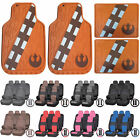 Star Wars Licensed Chewbacca Rubber Floor Mats U.A.A. Inc. Seat Covers Universal $124.72 CAD