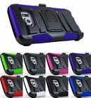 for Samsung Galaxy S7 G930 Hybrid Armor Case Cover&Belt Clip Holster+PryTool
