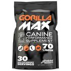GORILLA MAX Protein Muscle Vitamin Supplement for Dogs
