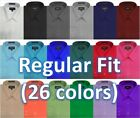NEW MENS Omega Solid LONG Sleeve Dress Shirt - 26 Colors, Part 2(14colors)