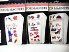 4TH OF JULY PATRIOTIC MAGNETS.REGRIGERATOR MAGNETS VARIETY 3 TO CHOOSE FROM