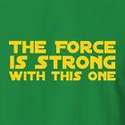 New Wars Star T-shirt The Force Is Strong vintage collectable item YODA $21.59 AUD