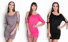 WOMAN SUMMER DRESS TUNIC WITH 3/4 SLEEVES SIZE 8 10 12 14 / S M L XL