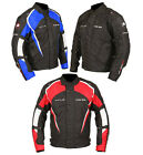 Buffalo Storm Rider Black / Red / Blue Waterproof Textile Motorcycle Jacket NEW