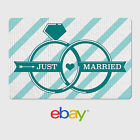 Gift Cards - Personalized eBay Gift Cards - Wedding Designs - $25 to $200 - Email Delivery