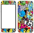 Sticker Bomb Skin Cover Sticker Decal Vinyl Wrap For ALL Apple iPhone. 002