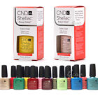 CND SHELLAC UV GEL COLOR Nail Polish Collection 1 Coat Pick Any Color