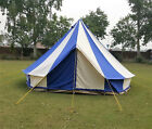 Bell tent 4 Meter 5 Meter 5M Glamptex 400Ultimate ZIG Zipped-in-Groundsheet Blue