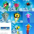 Brookite Childrens kids Easy to Fly Single Line kite 70x60cm 8 Animal Designs