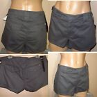 Joe's The Pant Low Rise Mini Shorts Charcoal Gray Breezy 100% Cotton 30 32