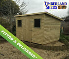 Pent Tanalised Garden Shed Fully T&G & Fully Tanalised FITTED & DELIVERED