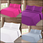NENA BED BEDSPREAD QUILT COVERLETS SET EMBOSSED PINSONIC SOLID MODERN 4 SIZES image