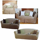 1 to 2 Seater OR 2 to 3 Seater Sofa Couch Cover - Cotton OR Polyester