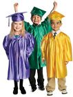 Set Of 5 Children's Nursery Graduation Gowns And Hats 3-6 Years Kids Costume