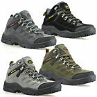 Ladies Womens Leather Suede Walking Hiking Trail Ankle Boots Trainers Shoes Size