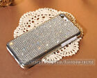 Handmade Back Case For iPhone 6/6 Plus Claw Set Clear Crystal Cell Phone Cover
