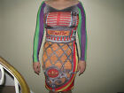 ADIDAS ORIGINALS ObyO JEREMY SCOTT JS JUKEBOX DRESS Note Tape Wings Bear Guitar