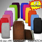 LEATHER PULL TAB CASE COVER POUCH SOFT SKIN COVER FOR Samsung Galaxy Alpha
