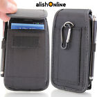 Universal Nylon Belt Pouch Case Cover Holster Bag for iPhone Samsung all Mobiles