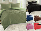 Reversible Comforter Set Down Alternative 3-Piece Bedding Super SOFT - 11 Colors image