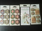 Crafts Cardmaking Embellishments various theme's by Crafty Bitz U.K. SELLER