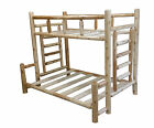 log bed - #1 Selling Rustic Cedar Log Bunk Bed - Choose Your Size - Easy Assembly