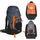 DLX Twinpeak DLX Rucksack Hiking Backpack with Hi Visibility Raincover