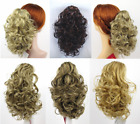 """11"""" LONG LOOSE SPIRAL CURLS CURLY HAIRDO HAIRPIECE PONYTAIL CLAW CLIP PHOEBE WIG"""