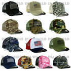 USA American Flag Hat Cap Mesh Tactical Operator Military Snapback Baseball Cap