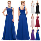 Beaded Long Maxi Evening Party Vintage Dress Formal PROM Bridesmaid Pageant Gown