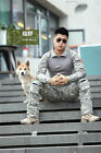 Combat Men Cargo ARMY Pants Military Camouflage Camo Trousers long-sleeved shirt