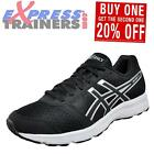 Asics Patriot 8 Mens Running Shoes Fitness Gym Trainers Black Onyx