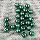 Glass Pearl Beads 4,6,8,10,12mm -{[Buy 3 Get 3 Free]}- Jewellery Making Crafts
