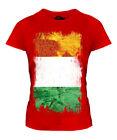 IVORY COAST GRUNGE FLAG LADIES T-SHIRT TOP IVORIAN FOOTBALL COTE D'IVOIRE GIFT