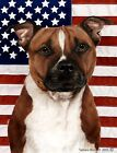 Pit Bull Terrier: House Flags and Garden Flags. Three designs and two sizes